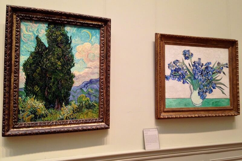 Photo of Cypresses by Vincent van Gogh