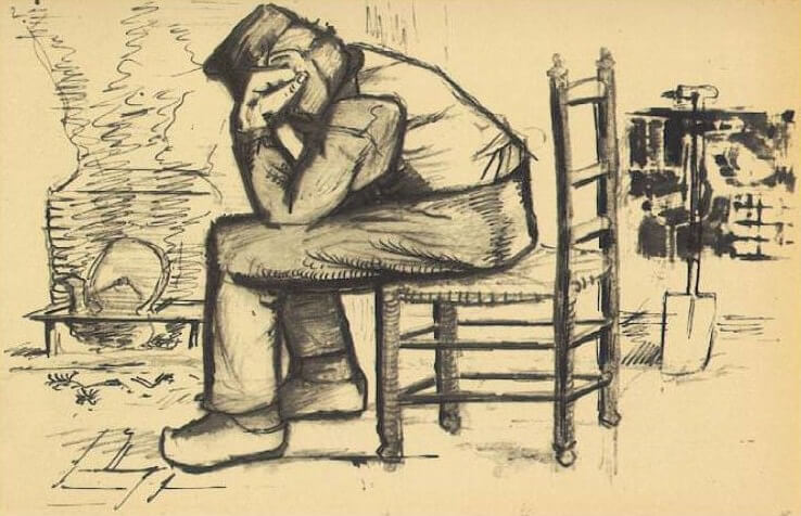 Worn Out - by Vincent van Gogh