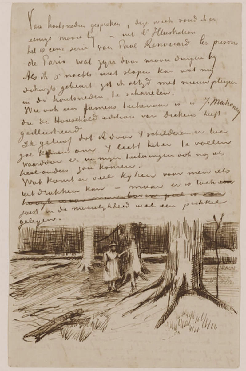 Letter 09/10/1882 - by Vincent van Gogh