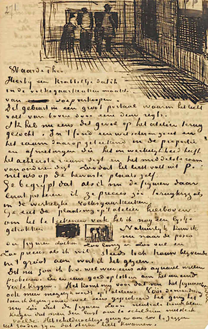 Letter 03/03/1883 - by Vincent van Gogh