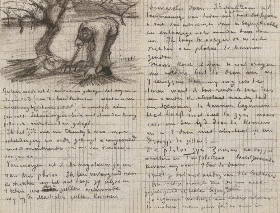 Letter 07/01/1883 - by Vincent van Gogh
