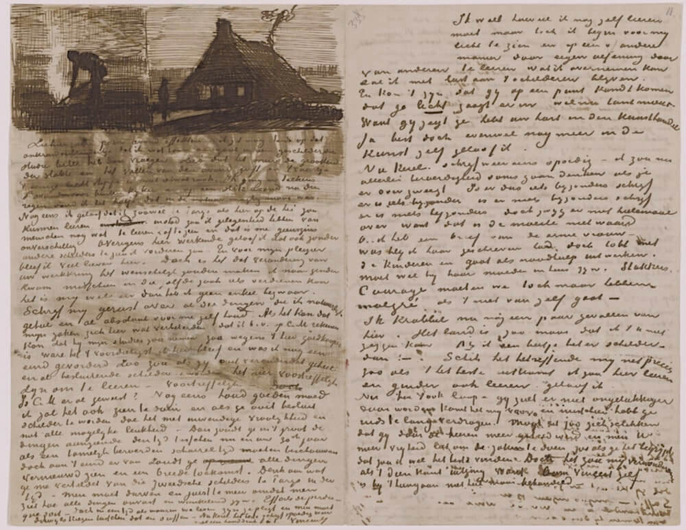Letter 10/25/1883 - by Vincent van Gogh