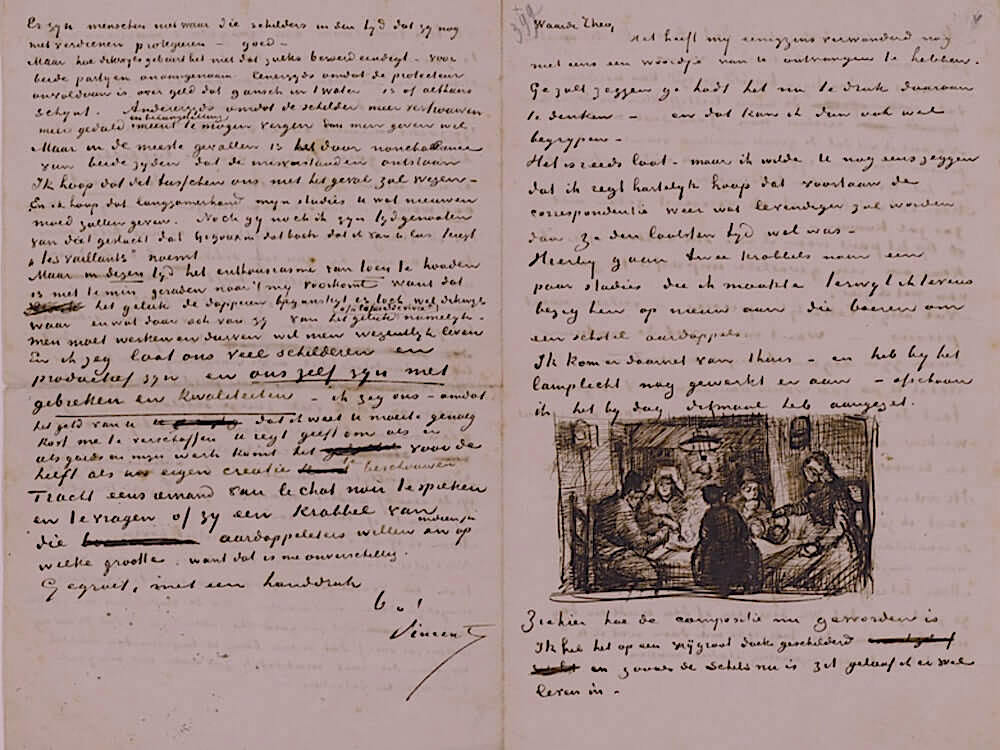 Letter 04/09/1885 - by Vincent van Gogh