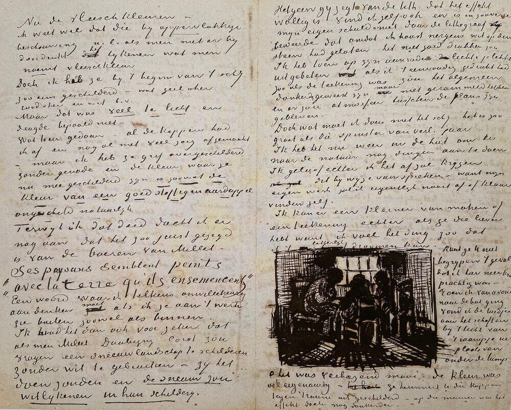 Letter 05/01/1885 - by Vincent van Gogh