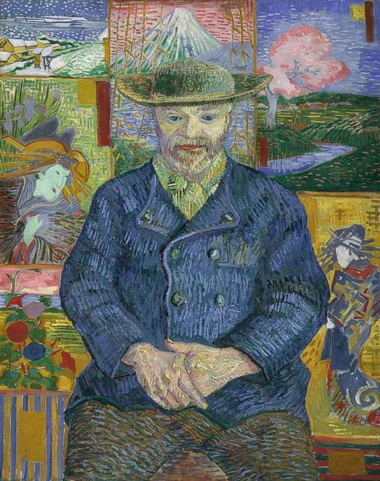Portrait of Pere Tanguy, 1887 by Vincent Van Gogh