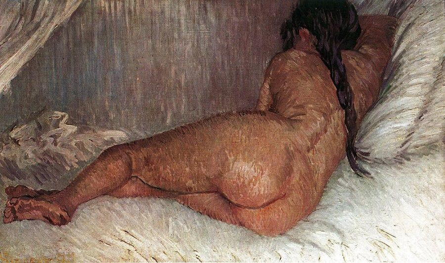 Reclining Nude, 1887 by Vincent Van Gogh