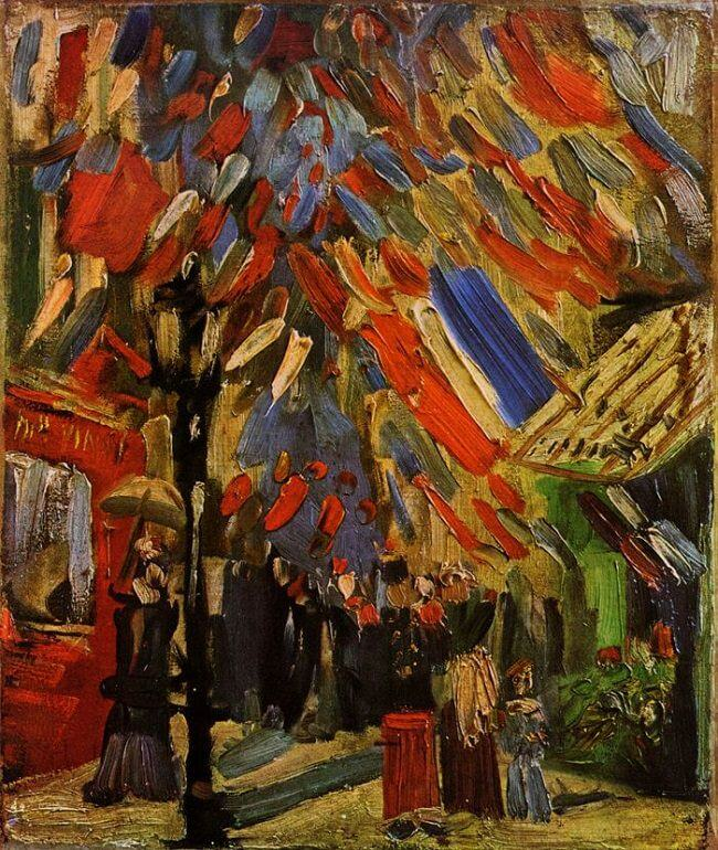 The 14th of July, 1886 by Vincent Van Gogh