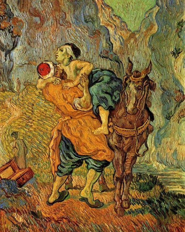 The Good Samaritan, 1890 by Vincent Van Gogh