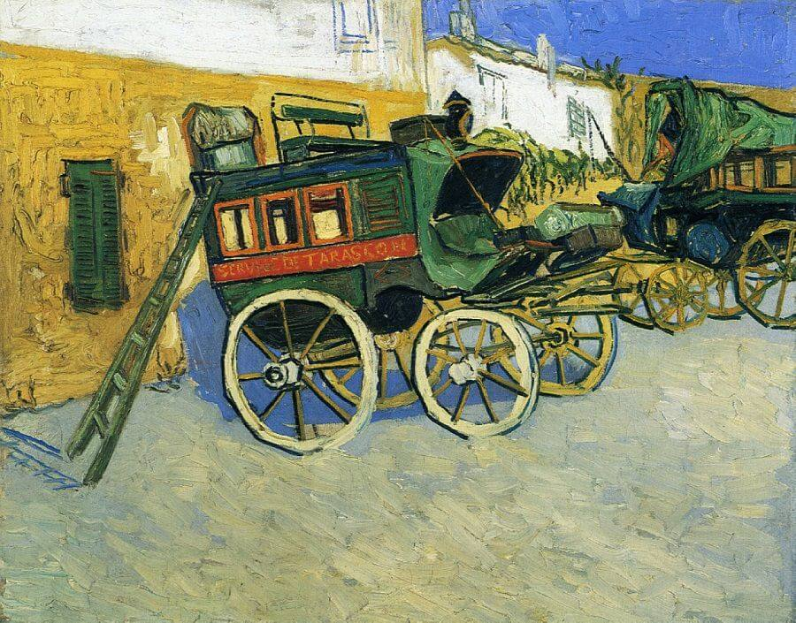 The Tarascon Diligence, 1888 by Van Gogh