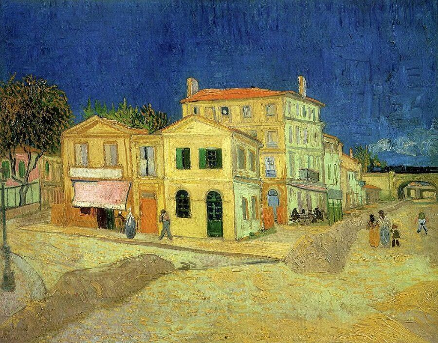 The Yellow House, 1888 by Vincent Van Gogh