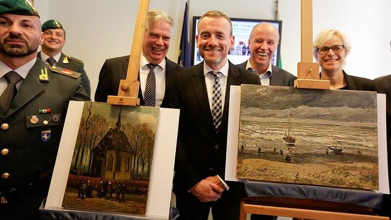 Return of two stolen Van Gogh Paintings
