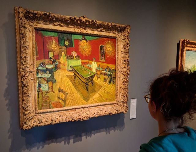 Photo of The Night Cafe by Vincent Van Gogh